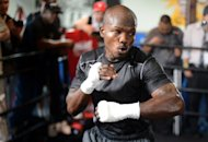 "US boxer Timothy Bradley during a media workout at Fortune Gym in Los Angeles on May 29. In Bradley, Manny Pacquiao says he'll be facing a younger, ""hungry"" fighter"