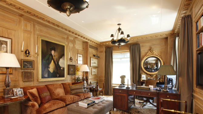 $50 million two-bedroom apartment at Central Park Ritz-Carlton office