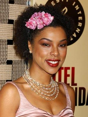 Sophie Okonedo at the Beverly Hills premiere of United Artists' Hotel Rwanda