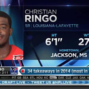 Green Bay Packers pick defensive end Christian Ringo No. 210 in 2015 NFL Draft