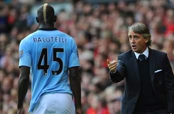 Balotelli and Mancini involved in furious training ground argument