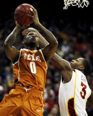 Brown lifts Texas to 71-65 win over No. 25 Iowa St
