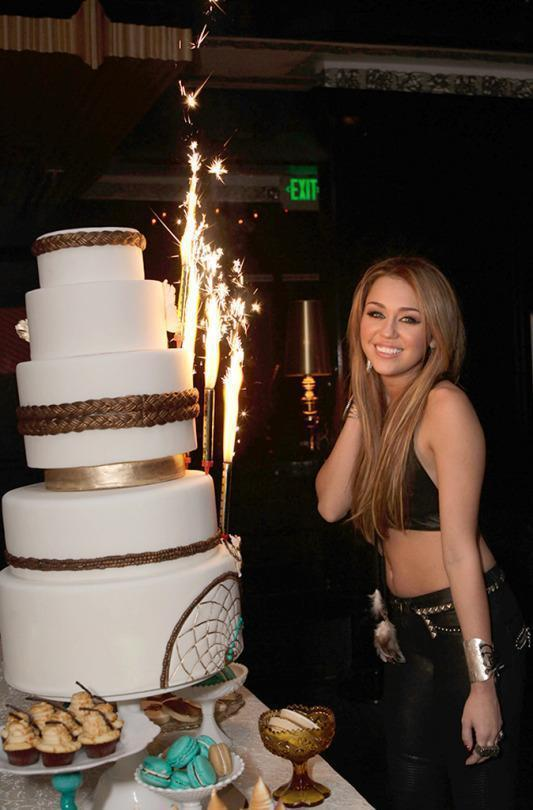 Miley Cyrus's Life as Told in Birthday Cakes