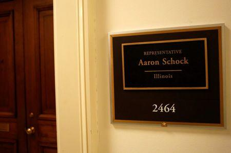 Schock leaves U.S. Congress, notes Abe Lincoln had troubles too