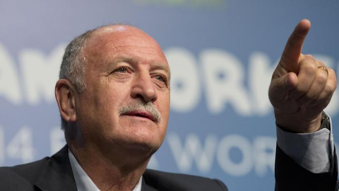 Scolari: It's all going Brazil's way for World Cup