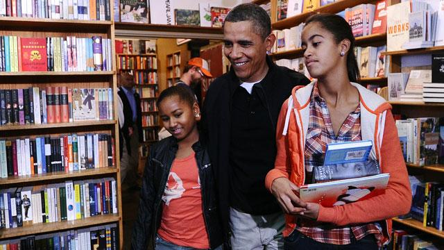 Malia Obama, 13, Almost as Tall as the President