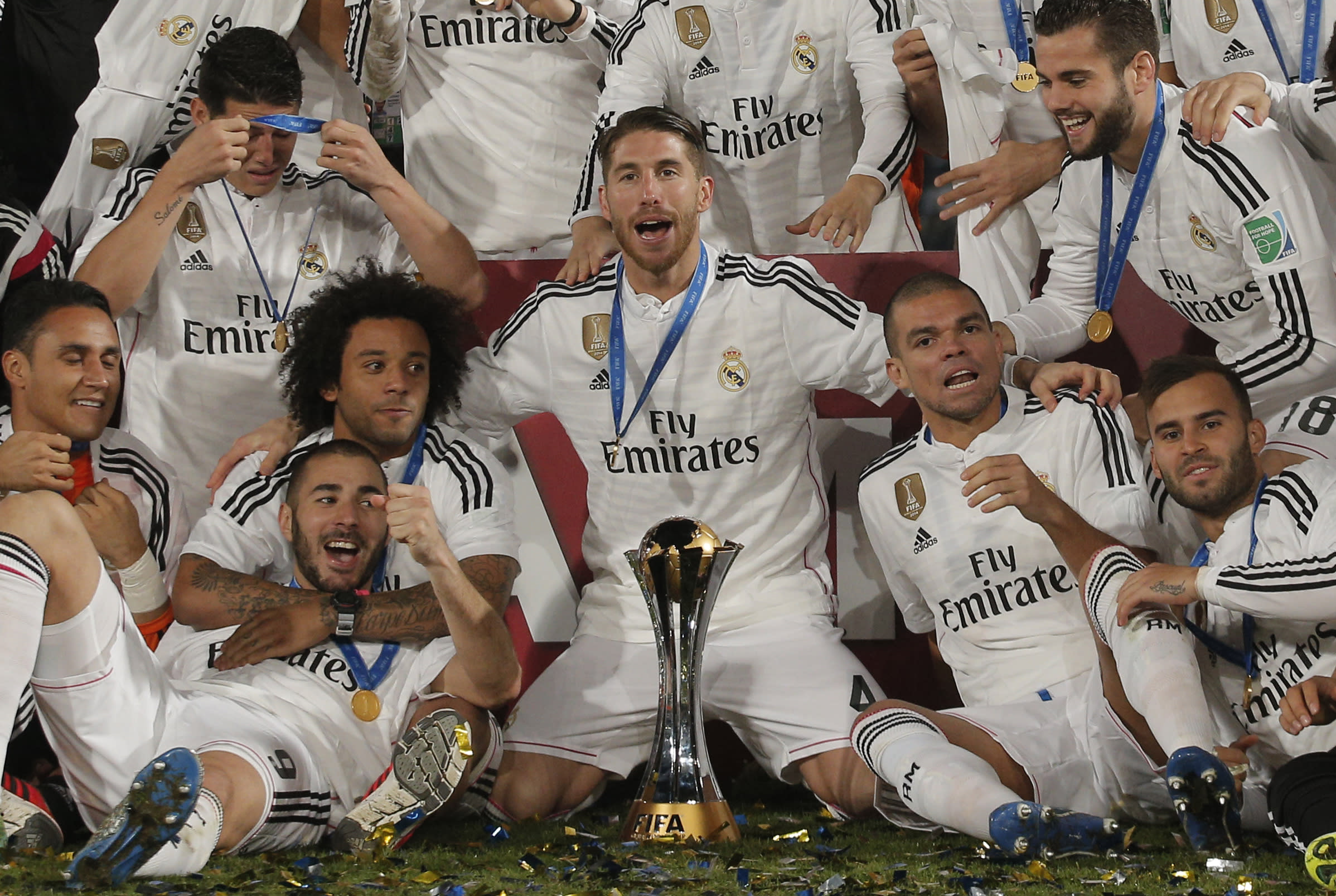 Real Madrid remains top of AP Global Football 10