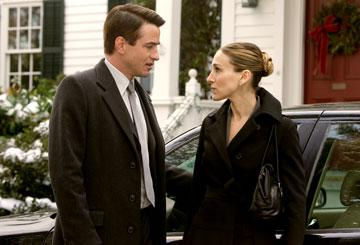 Dermot Mulroney and Sarah Jessica Parker in 20th Century Fox's The Family Stone