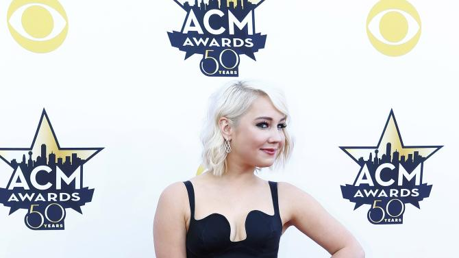 RaeLynn arrives at the 50th Annual Academy of Country Music Awards in Arlington