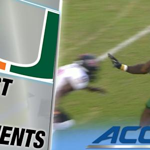Gus Edwards Efforts Unparalleled | ACC Must See Moment