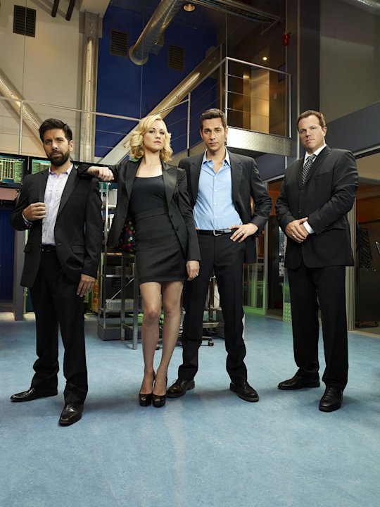 "The cast of ""Chuck""."