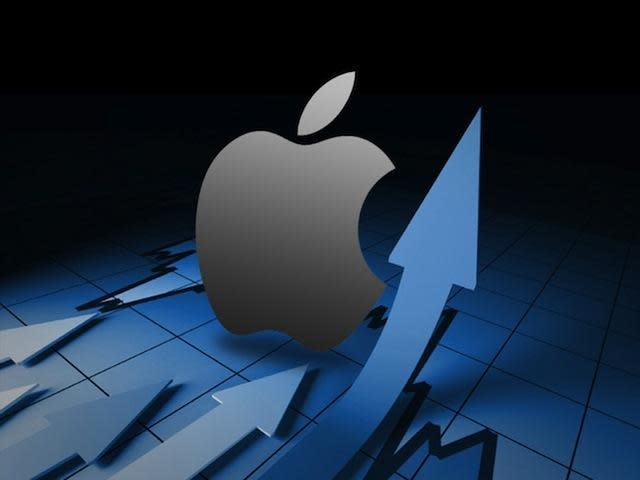 Apple lands prime spot in the Dow, as AT&T departs