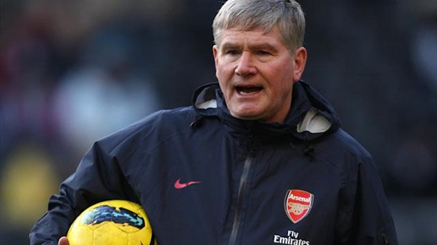 2011-12 Premier League Arsenal assistant manager Pat Rice