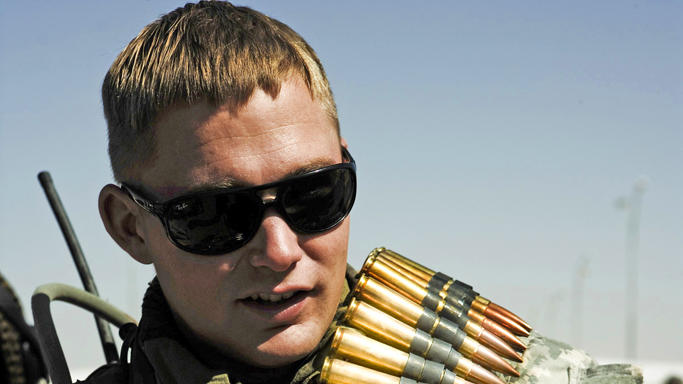 Brian Geraghty The Hurt Locker Production Stills Summit 2009