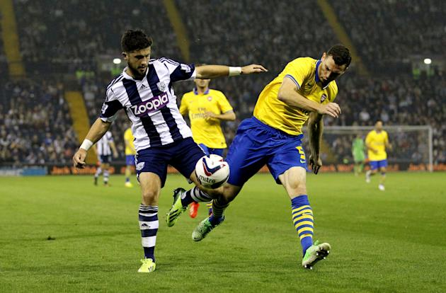 Soccer - Capital One Cup - Third Round - West Bromwich Albion v Arsenal - The Hawthorns