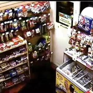 Raw Video: Attempted Robbery At San Carlos Gas Station (EXPLICIT LANGUAGE)