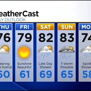 KDKA-TV Evening Forecast (7/23)