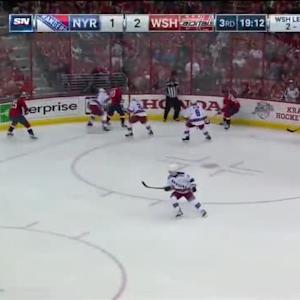 Rangers at Capitals / Game Highlights