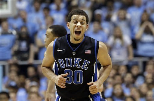 No. 3 Duke hammers North Carolina 69-53