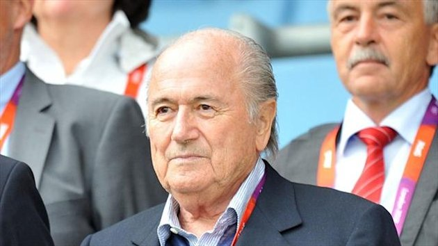 Sepp Blatter says German football is setting the example