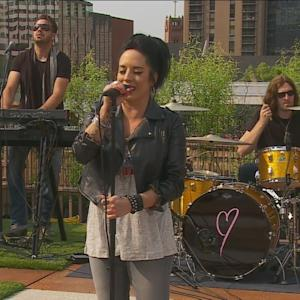 "Kat Perkins: ""Drive"" – Live From The WCCO Rooftop Studio"