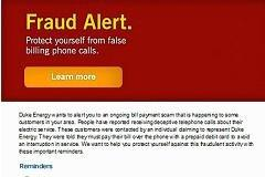 New scam targets utility customers