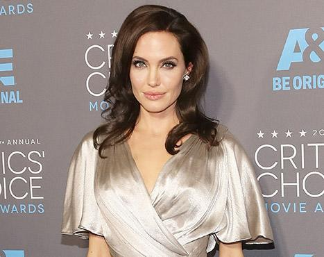 "Angelina Jolie Reveals She Doesn't ""Look Back,"" Says ""What Doesn't Kill You Makes You Stronger"""