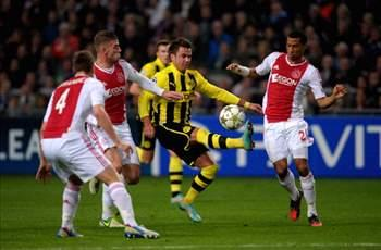 Ajax 1-4 Borussia Dortmund: Gotze guides German champions into knock-out stages