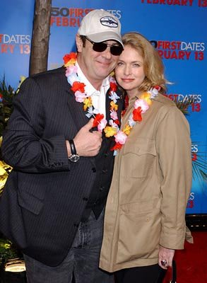 Dan Aykroyd and Donna Dixon at the LA premiere of Columbia's 50 First Dates
