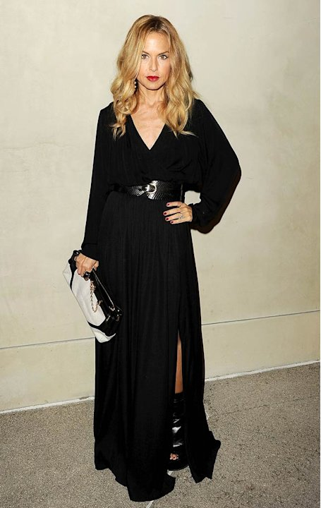 Rachel Zoe Armani Dinner