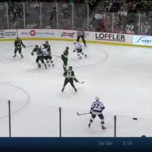 Devan Dubnyk Save on Matt Greene (01:32/2nd)