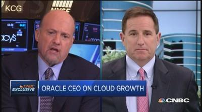 Oracle CEO issues warning to competitors