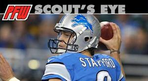Stafford suffers from shotgun overload