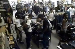 Nader Nazemi-The owner of MildBlend Supply Co. in Chicago posted this surveillance video of a flash mob robbing his store on …-Nader Nazemi