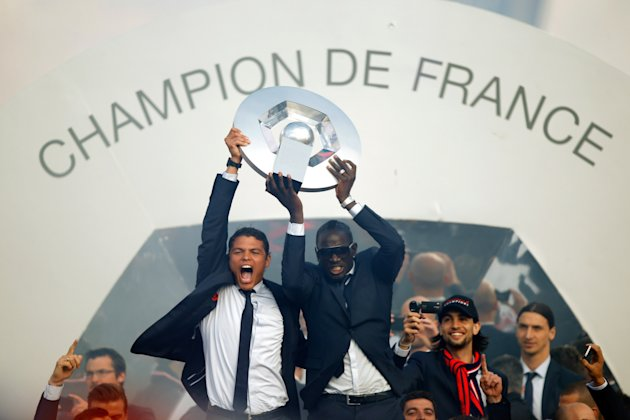 Paris Saint-Germain Trophy Ceremony