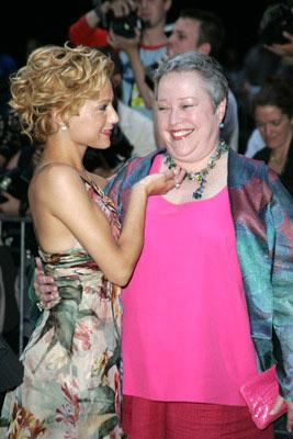Premiere: Brittany Murphy and Kathy Bates at the New York premiere of Revolution Studio's Little Black Book - 7/21/2004