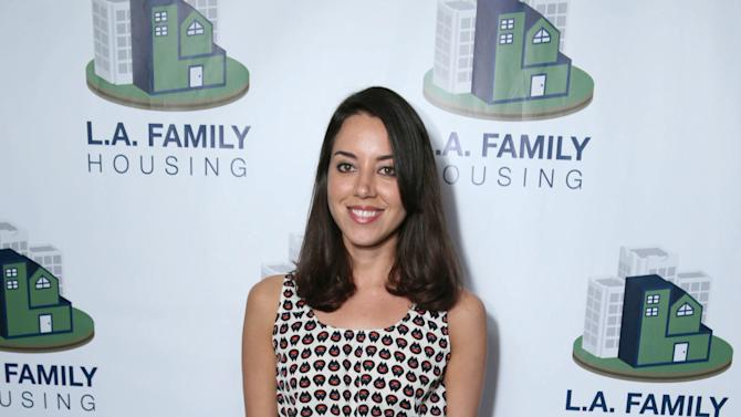 Aubrey Plaza at LA Family Housing Awards 2013, on Thursday, April, 25, 2013 in Culver City, Calif. (Photo by Eric Charbonneau/Invision for Warner Bros./AP Images)