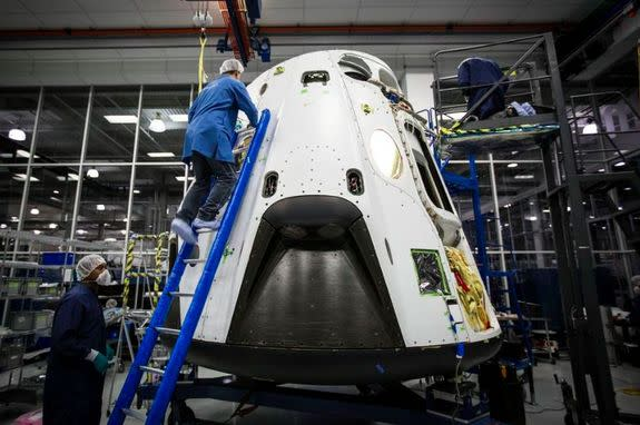 SpaceX's Dragon Crew Capsule to Undergo Key Safety Test on May 5