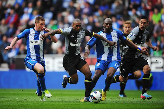 Wigan Athletic v Tottenham Hotspur - Premier League