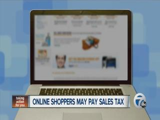 Internet sales tax bill