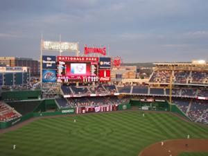 The sparkling new Nationals Park is home to the Washington Nationals, as baseball has been revived in D.C. (Photo courtesy of Jake Emen.)