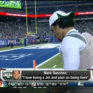Will quarterback Mark Sanchez be a New York Jet next year?