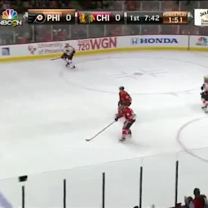 Philadelphia Flyers at Chicago Blackhawks - 12/11/2013