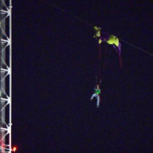 BASE jumper stuck on Mo. tower
