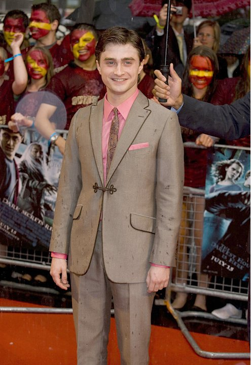 Harry Potter and the Half Blood Prince UK Premiere 2009 Daniel Radcliffe