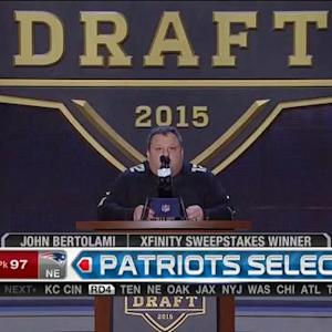 New England Patriots pick defensive end Geneo Grissom No. 97 in 2015 NFL Draft