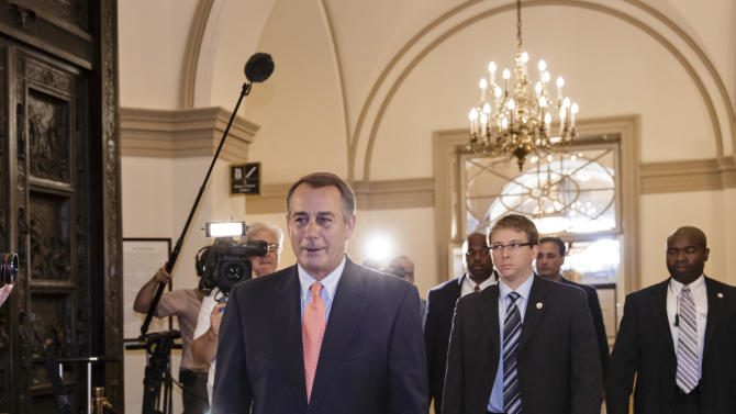 Boehner: No idea when government shutdown ends