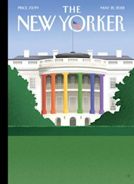 La Casa Blanca multicolor de The New Yorker