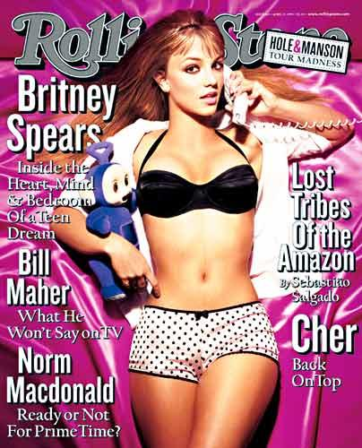 Britney Spears in 1999. Young enough to play with toys. Old enough for men to want to have sex with.