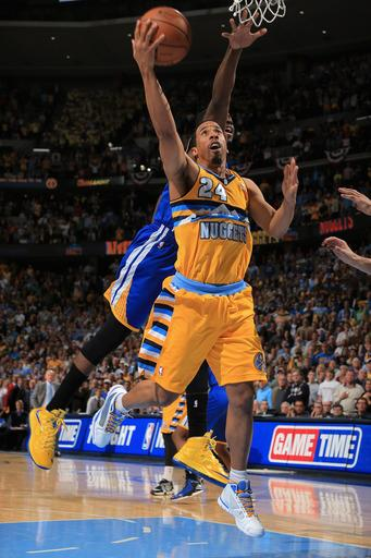 Miller leads Nuggets past Warriors 97-95